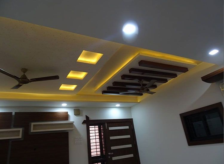False Ceiling And Lighting By Manthanhomedesigns