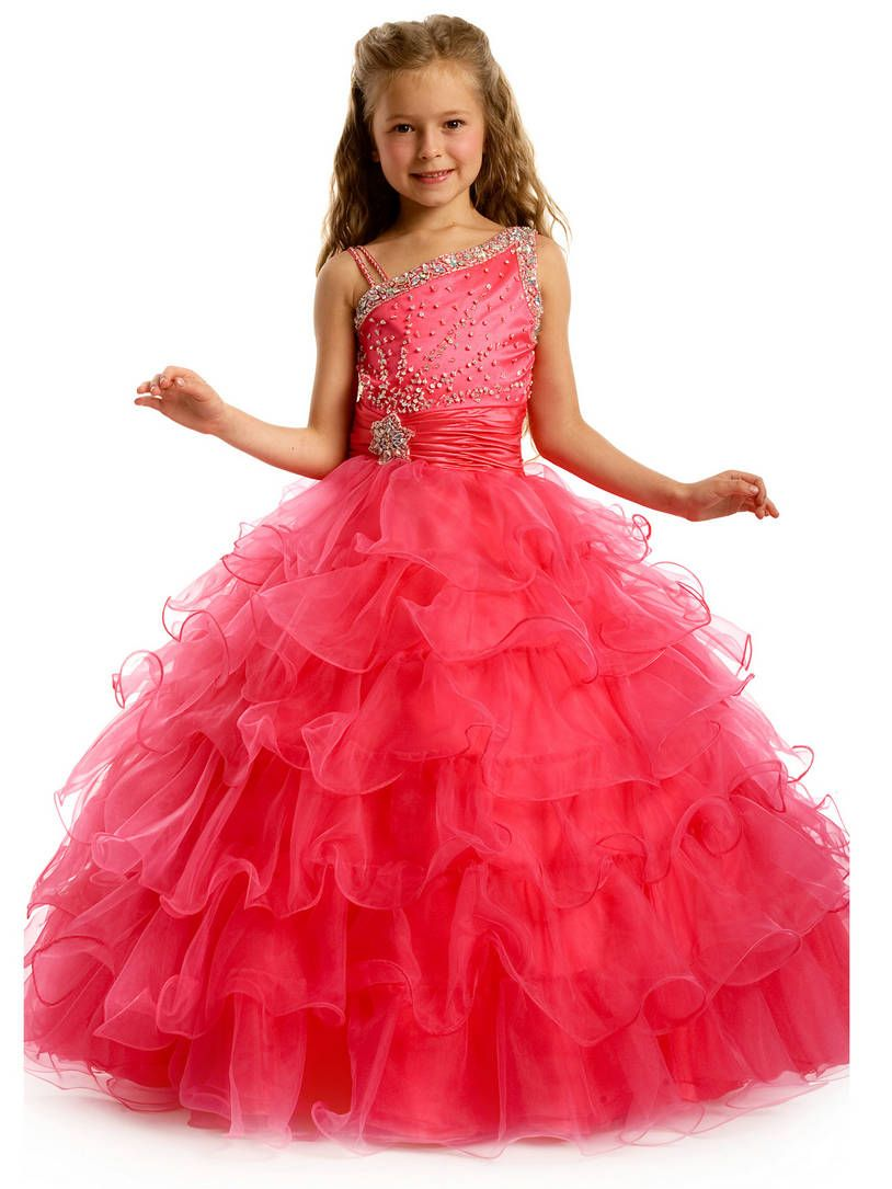 Party frock for kids | Tatum's board | Pinterest | Girls pageant ...