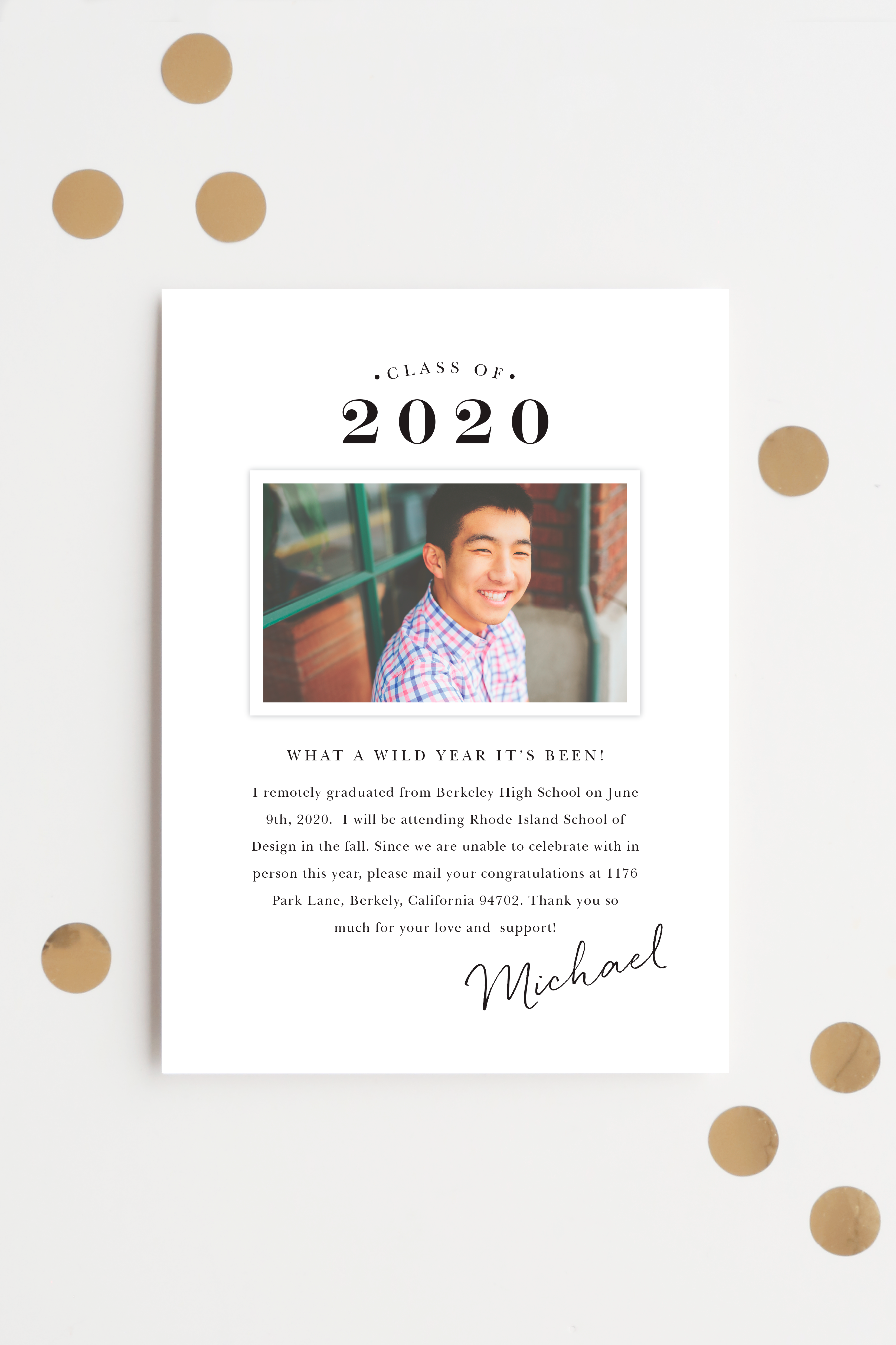 Pin on 2020 Graduation Announcements & Invitations
