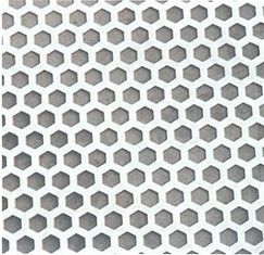Hexagon Shape Galvanized Perforated Stainless Steel Sheet 201 304 Aisi Astm Stainless Steel Sheet Galvanized Sheet Metal Hexagon Shape