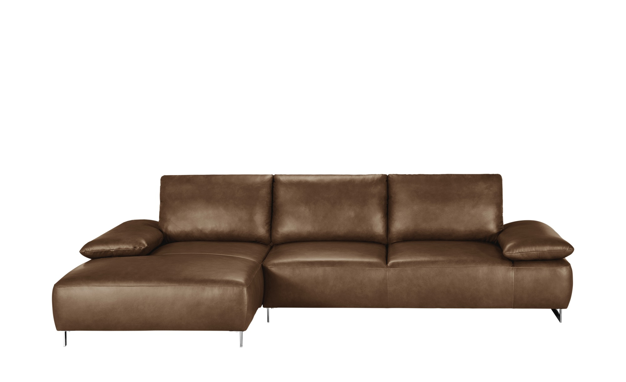 Ecksofa Braun Leder Empire Sofa Couch Sectional Couch
