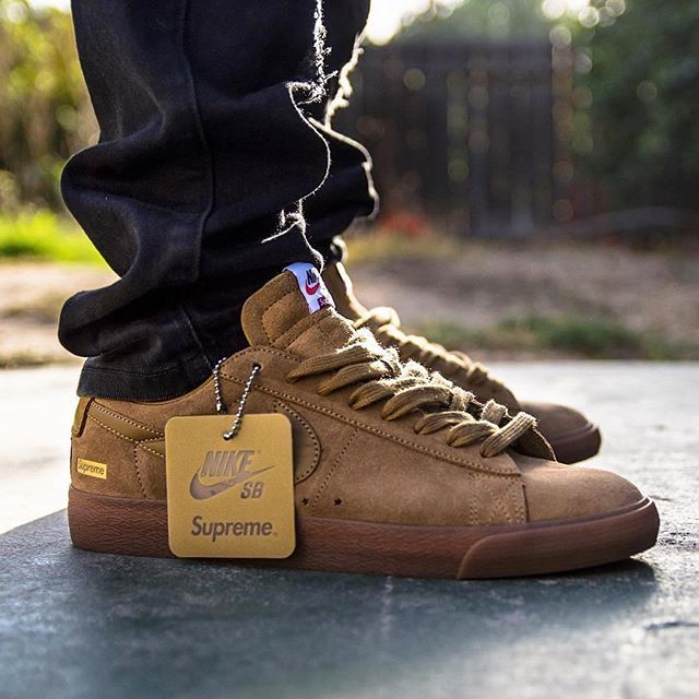 the best attitude 7f4c8 82a09 What did you wear today? 👟: Supreme x Nike SB Blazer Low ...