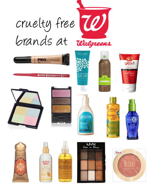 CRUELTY FREE BRANDS AT WALGREENS (UPDATED 2019) (With