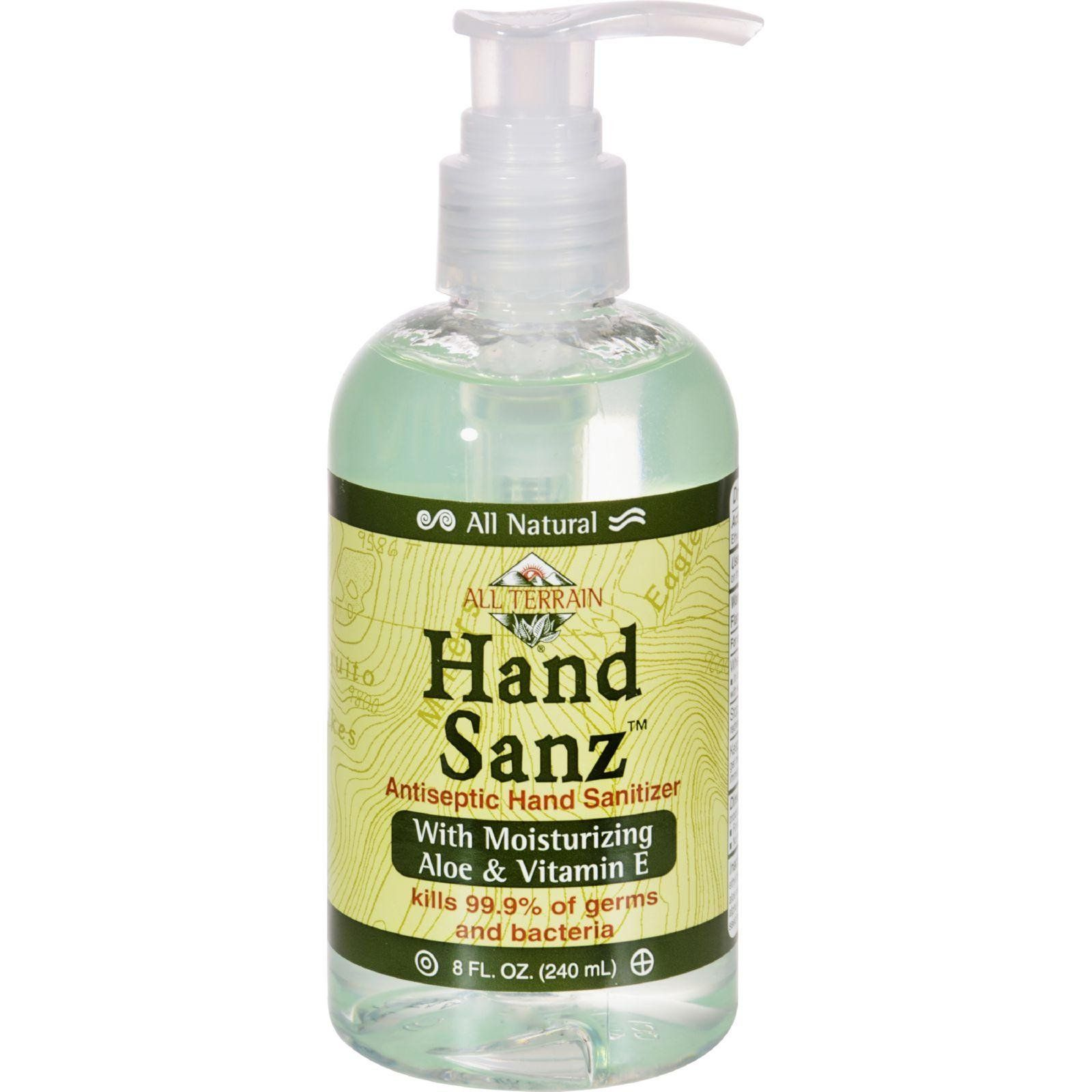 All Terrain All Natural Hand Sanz 8 Fl Oz Natural Hand