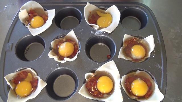 Huevos en canasta. Video by José C Baig.