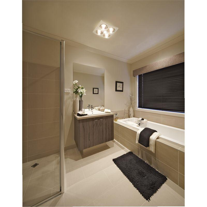 Ixl Tastic Original 3 In 1 Bathroom Heat Fan Light Bathroom Fan