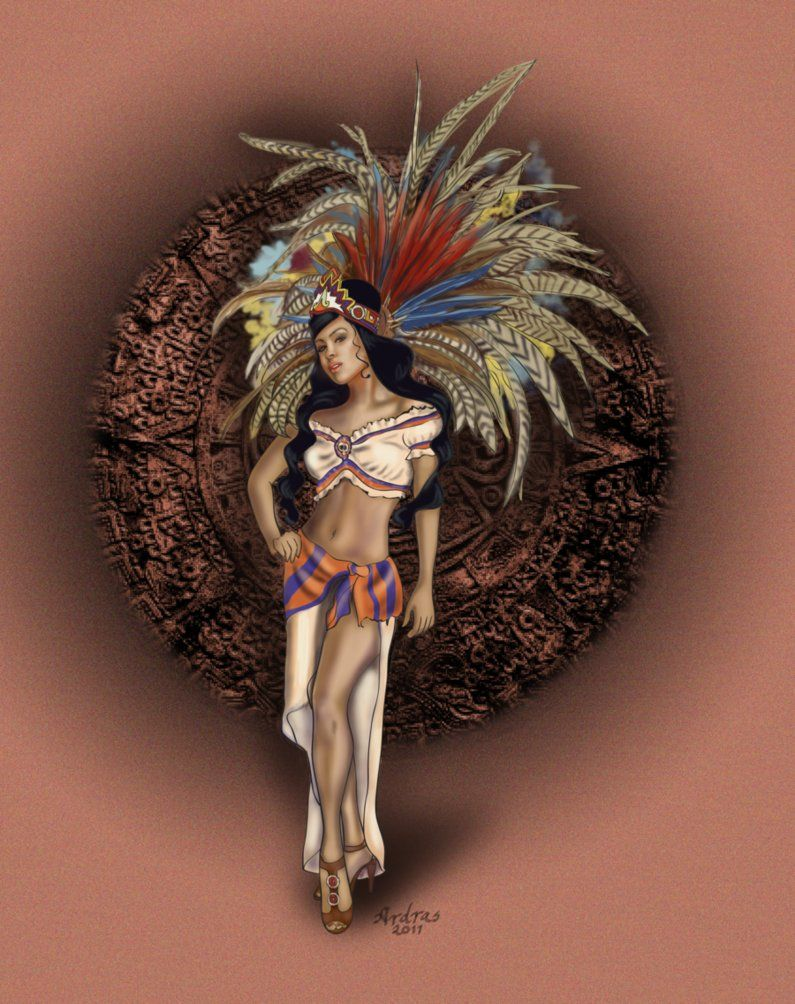 Showing picture: Warriors Aztecs Art, Aztec