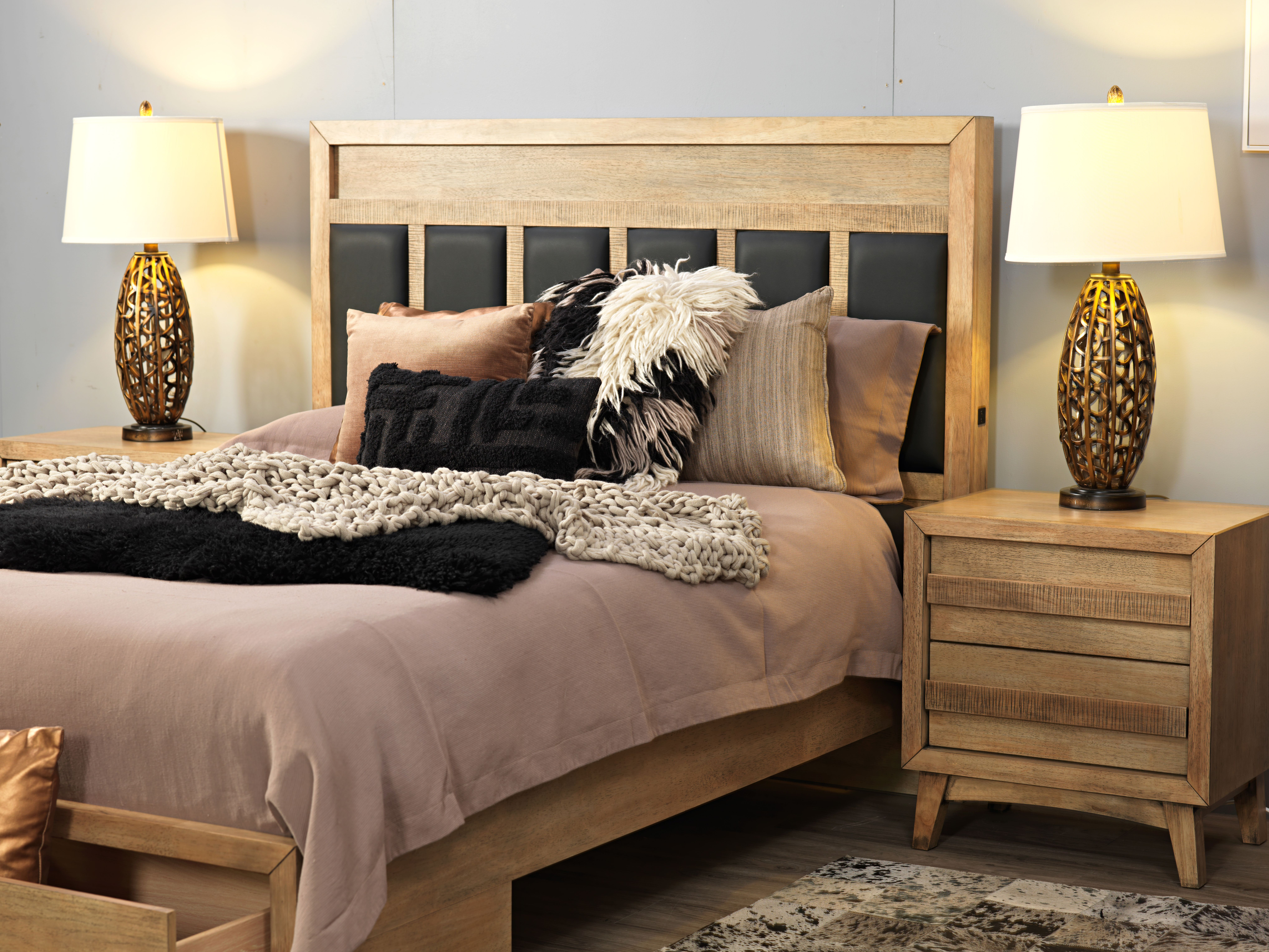 California Queen Bed with Drawer/s Bed, Bed with drawers