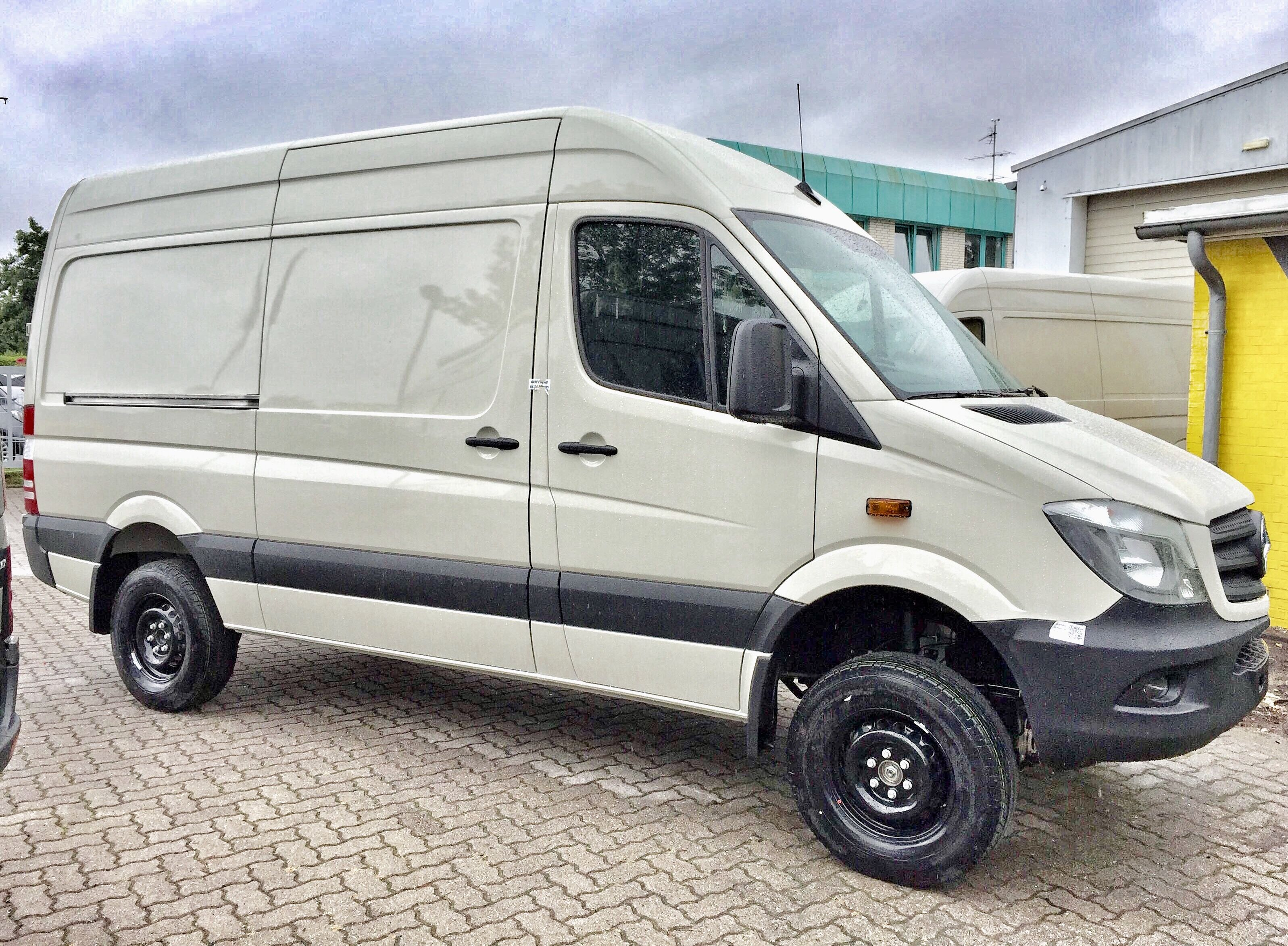 Our Mercedes Sprinter 4x4 V6 Auto straight off the production line