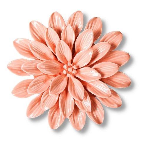 Target Wall Of Flowers Threshold Ceramic Flower