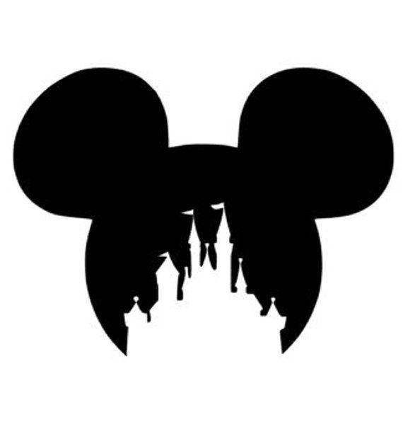 Mickey Schloss Aufkleber, Mickey Aufkleber, Disney Haus Aufkleber, Mickey Auto-Aufkleber, Disney-Aufkleber, FE, Minnie Aufkleber, Disney-Schloss #disneycups