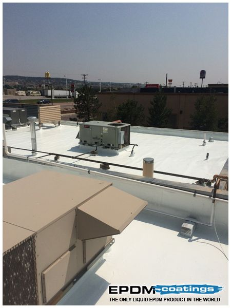 How Roof Coatings Can Stop Leaks Before They Ever Happen Epdm Roofing Roof Coatings Roofing