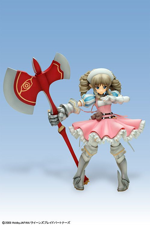 Queen's blade PVC Figure - Anime version Ymir 1/7