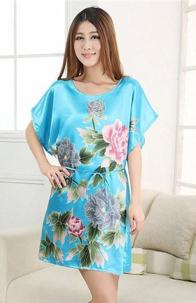 style Sexy nightgowns chinese