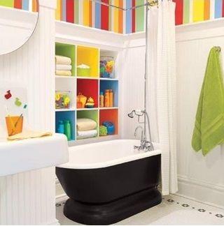 Colorful #Childrens #Bathroom