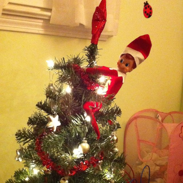 Elf on a Tree