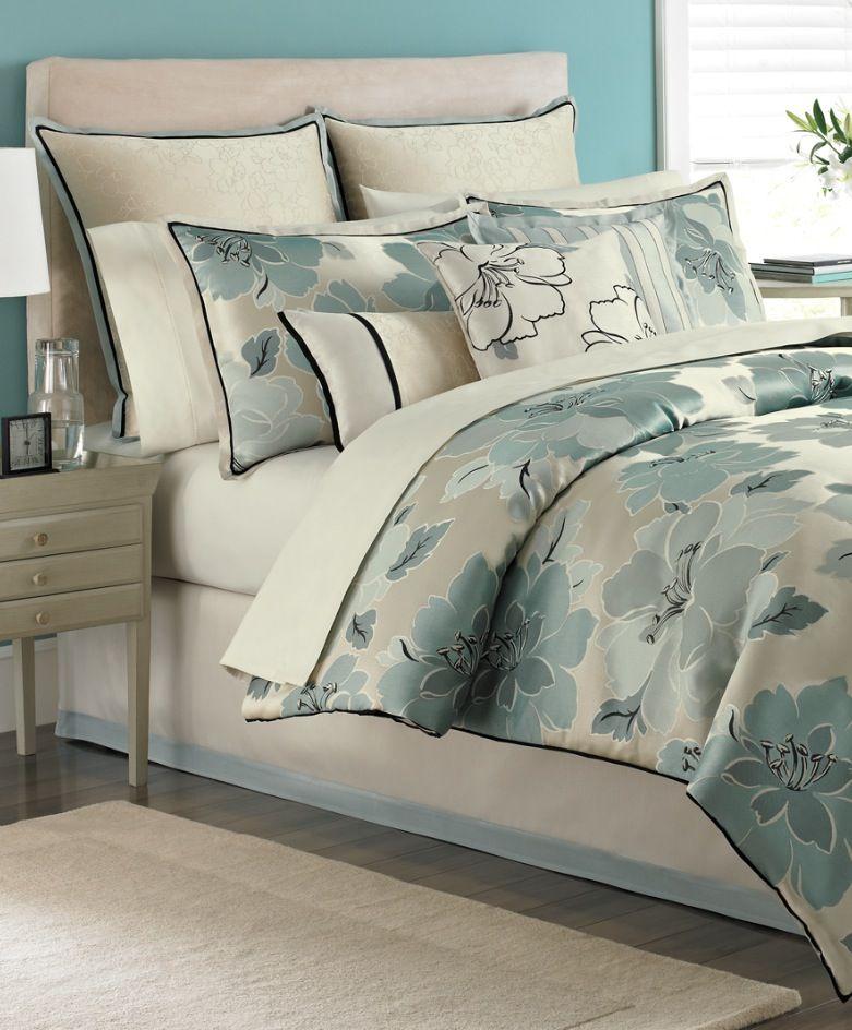 Macy Home Decor: Martha Stewart Collection Garden Retreat 9 Piece Comforter