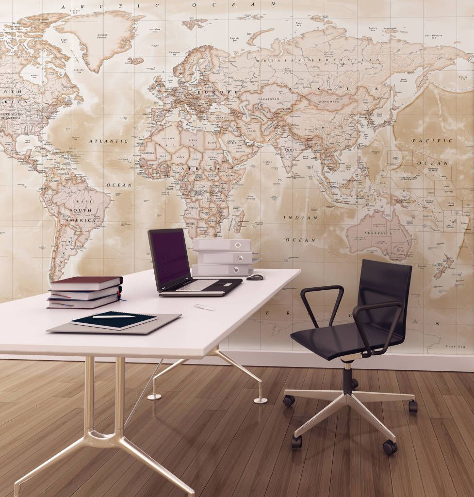 Interior design ideas redecorating remodeling photos wallpaper world map wallpaper from love maps on ltd gumiabroncs Image collections
