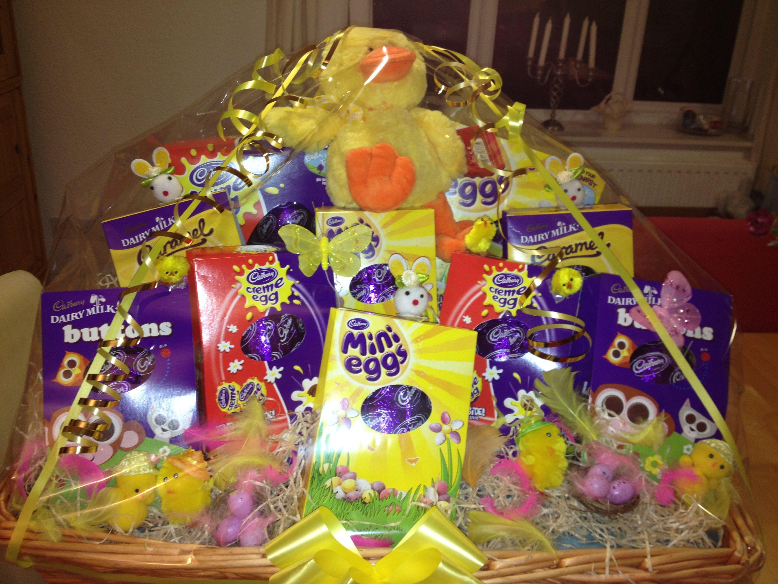 Easter hamper easter pinterest hamper easter and easter bingo easter hamper negle Images
