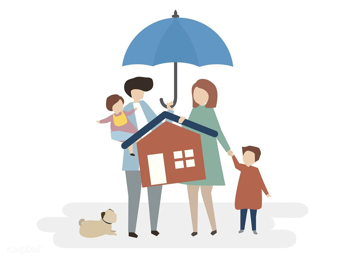 Download Premium Vector Of Illustration Of Home Insurance