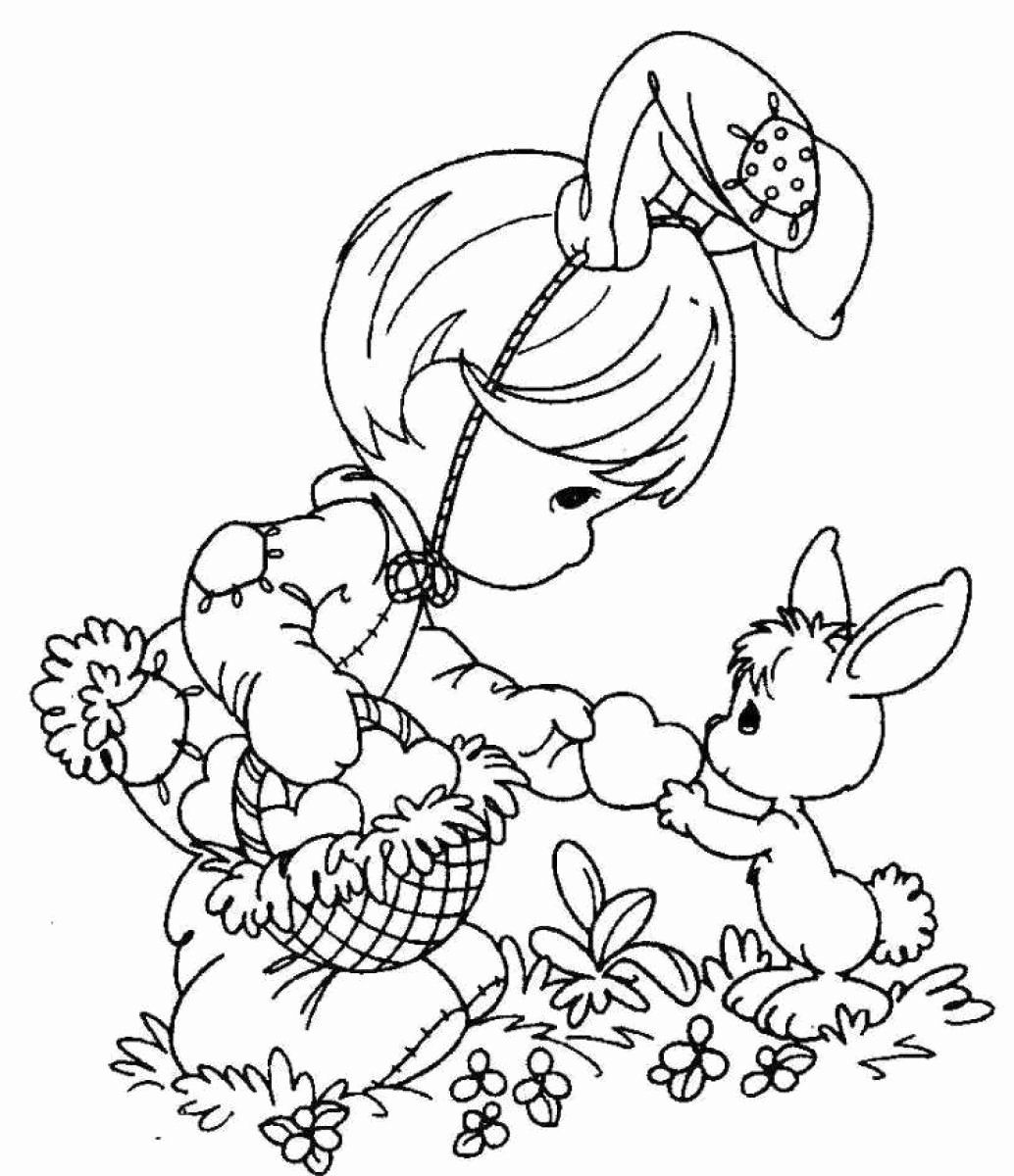 Printable Easter Coloring Page New Coloring Pages Happy Easter Coloring Pages H Precious Moments Coloring Pages Free Easter Coloring Pages Bunny Coloring Pages