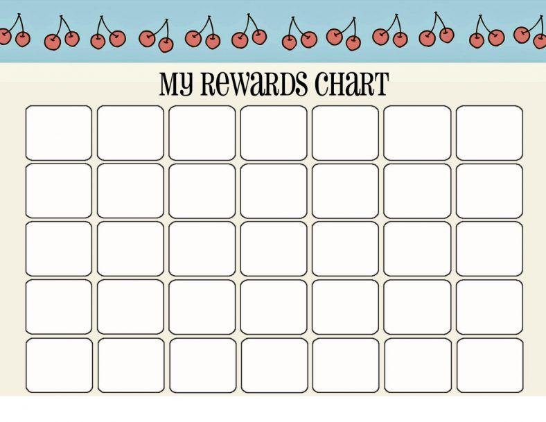 Printable Reward Chart New  Useful Printables