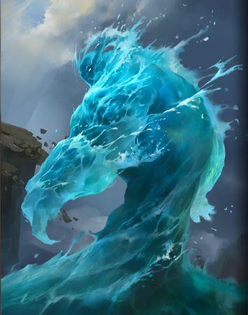 Resultado de imagem para water elemental