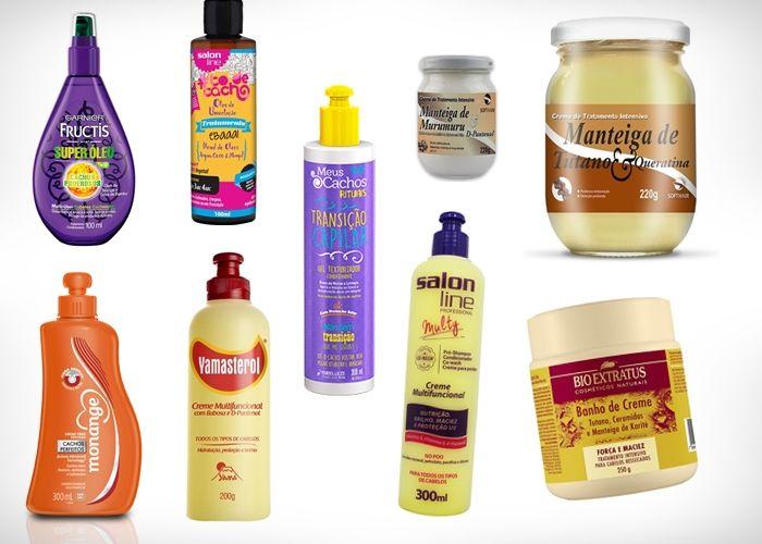Uma lista cheia de produtos acessíveis para quem acabou de entrar em transição ou que fez o BC (big chop) recentemente e precisa de uma ajudinha.