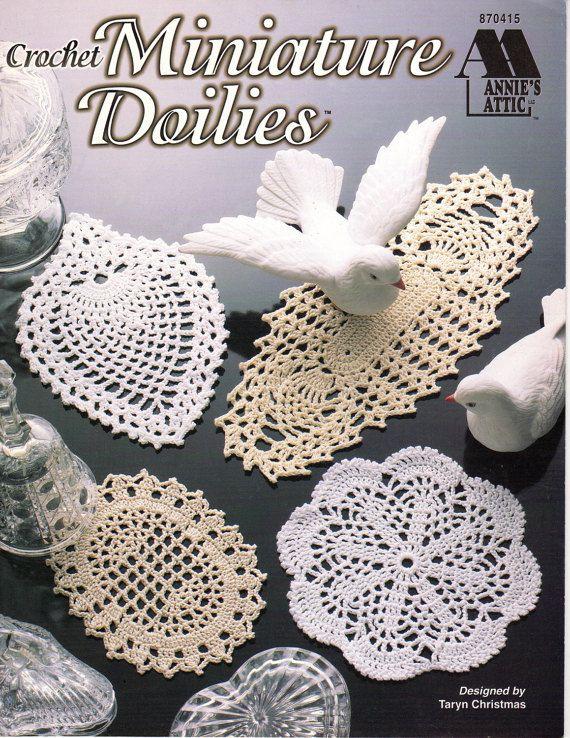 Crochet Miniature Doilies Crochet Book By Taryn Christmas Annies