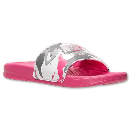 2a0233a07 Women s Nike Benassi JDI Print Slide Sandals