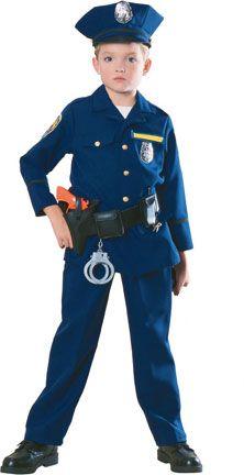 Police Uniform Police Officer Costume Cop Costume For Kids Cop Costume