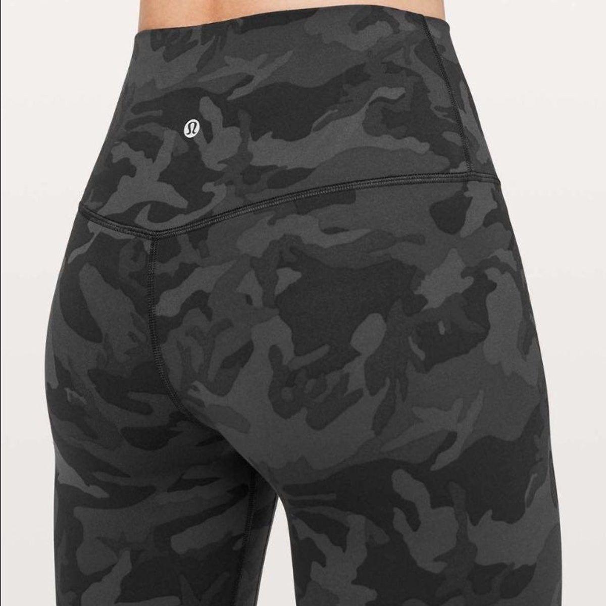 Lululemon Align Pant Incognito Camo 2 On Mercari Lululemon Outfits Lulu Leggings Lululemon Align Pant