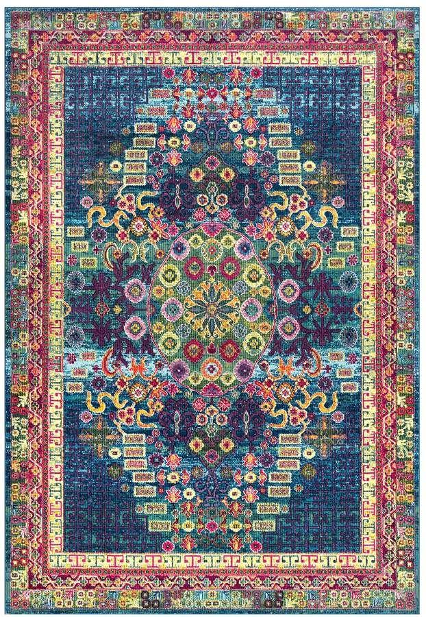 Nuloom Joann Vintage Persian Framed Floral Rug In 2020