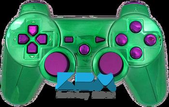 The Joker PS3 Controller - KwikBoy Modz #customcontroller #moddedcontroller #jokercontroller #ps3 #ps3controller