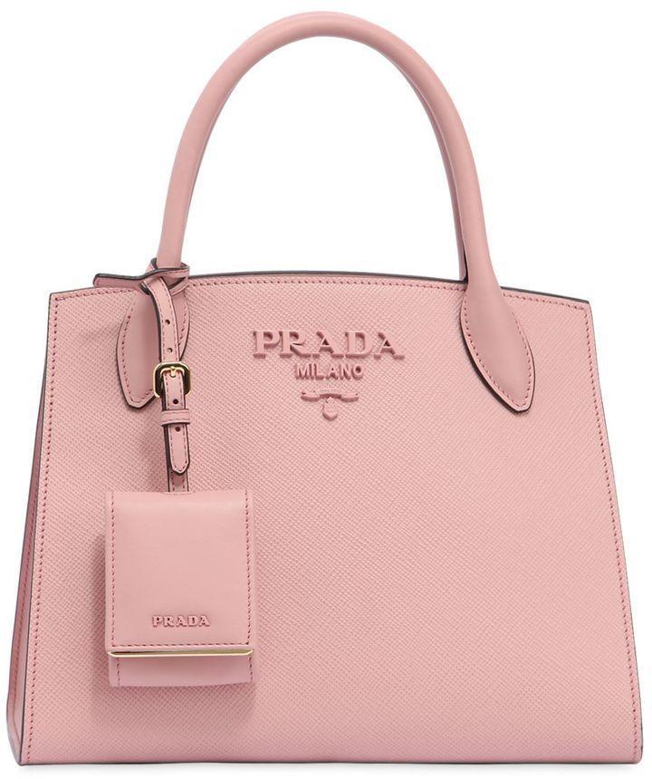 6bf09e1fcf Prada Small Monochrome Saffiano Leather Bag | Prada and its Charms ...