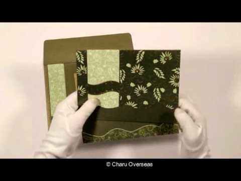 Hindu Wedding Cards - W-8236H - 123WeddingCards - YouTube