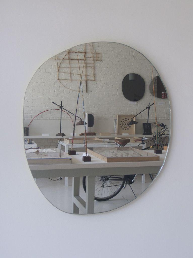 mc day glow frame mirror clear glass