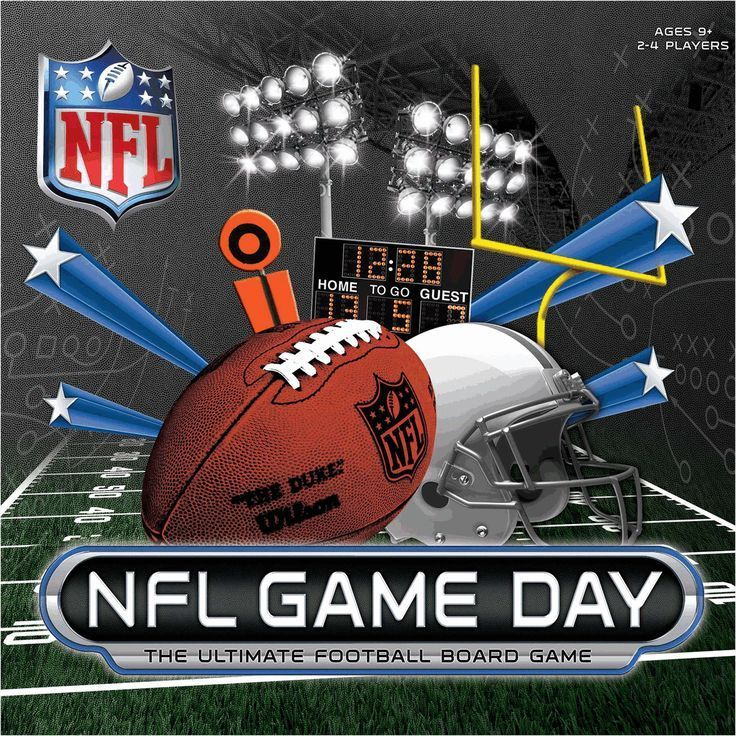 NFL Game Day Board Game. NFLFootballBoys (With images