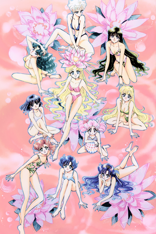 sailor moon picture collection volume iv selected art #4