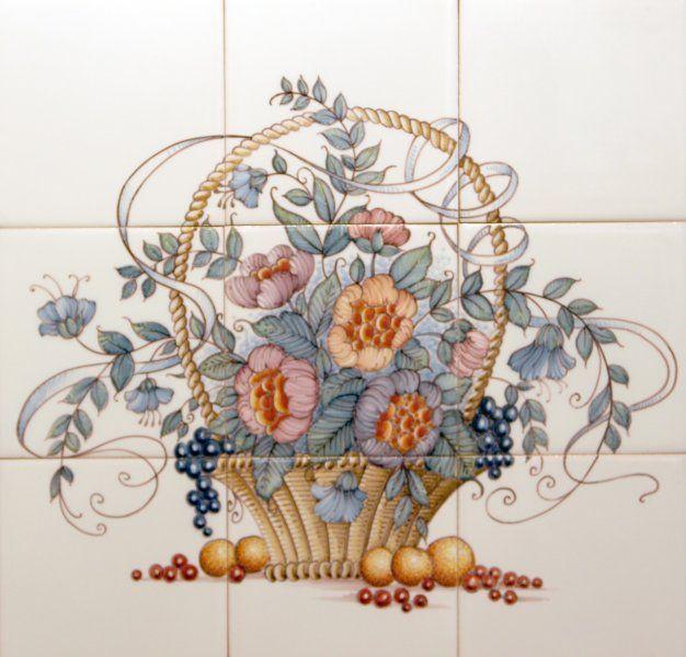Tichelaar Makkum tegeltableaus, met de hand beschilderde tegels - Atelier KK Naarden-Vesting