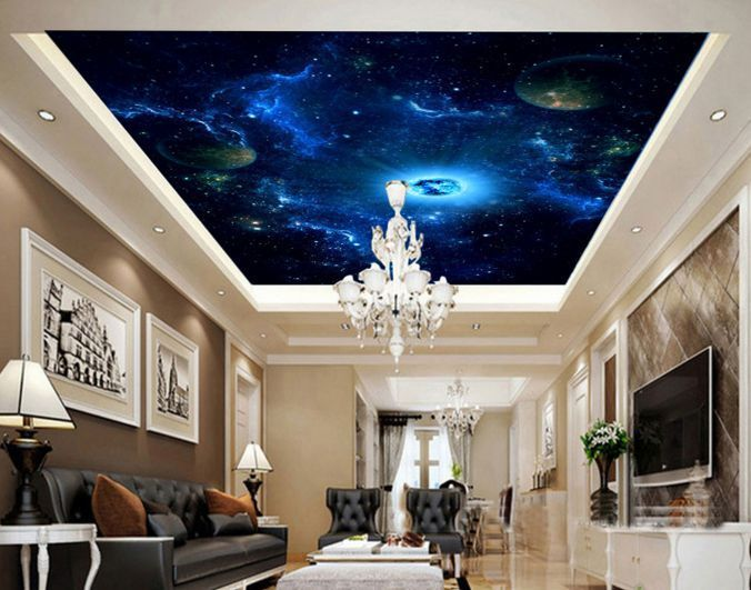 3D Blaues Universum 203 Fototapeten Wandbild Fototapete BildTapete Familie  DE