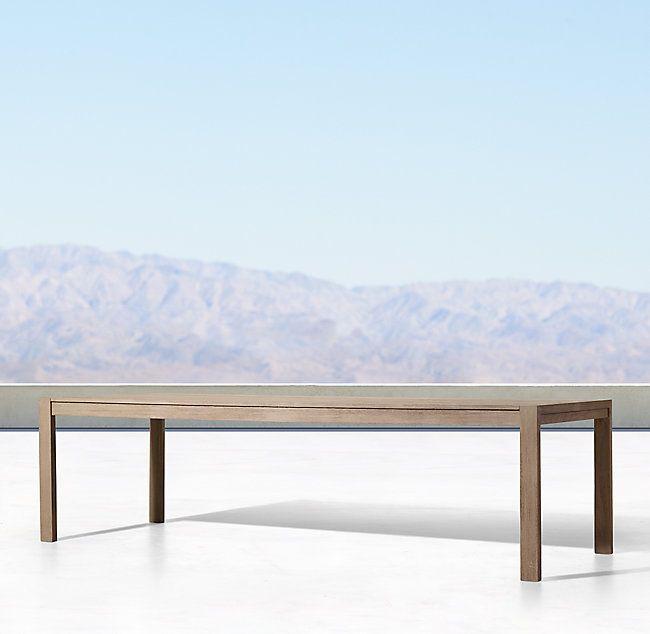 Wondrous Aegean Teak Rectangular Dining Table Project Greerland Machost Co Dining Chair Design Ideas Machostcouk