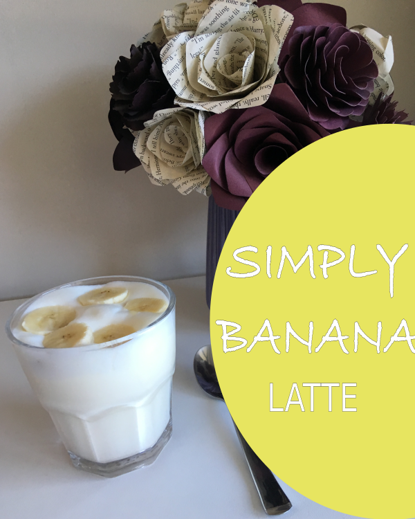 $11.99 Delicious Simply Banana Latte. The Combination Of