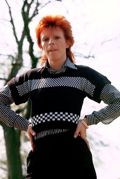 1973 - David Bowie 70s (photo by Mick Rock).