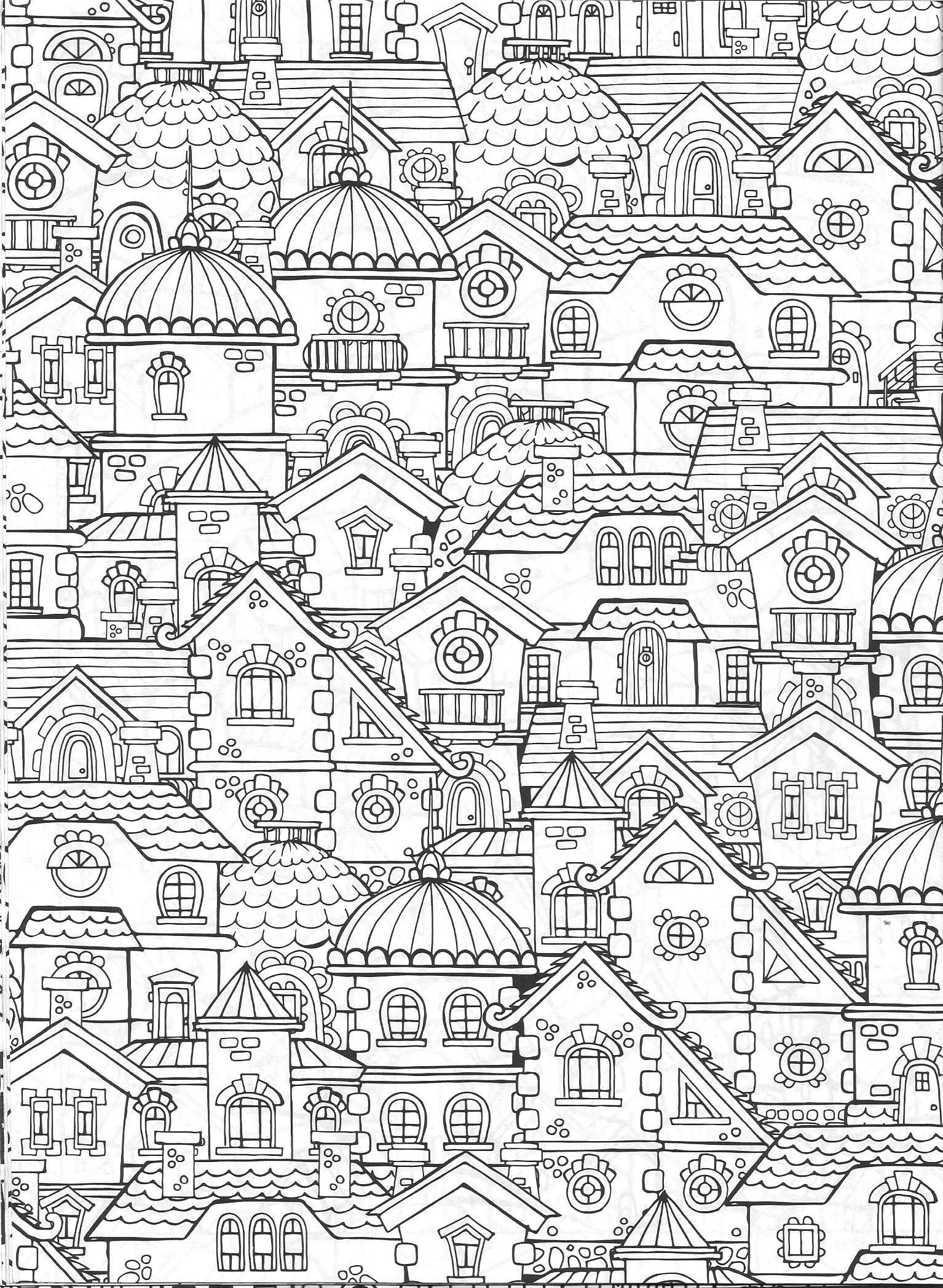 Vida Simples Cidade dos Sonhos | MalVorlagen | Pinterest ...