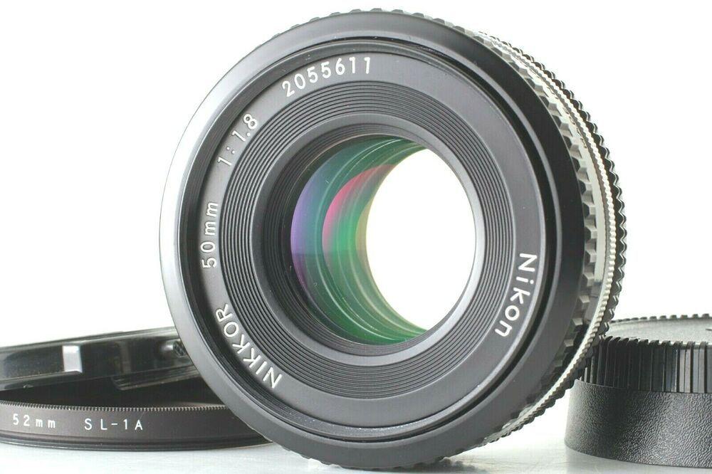 Near Mint Nikon Nikkor Ai S Ais 50mm F1 8 Pancake Prime Lens From Japan 1308 Ebay Prime Lens Lens Film Cameras