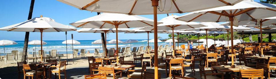 Romantic Big Island Hawaii Restaurants Mauna Kea Beach