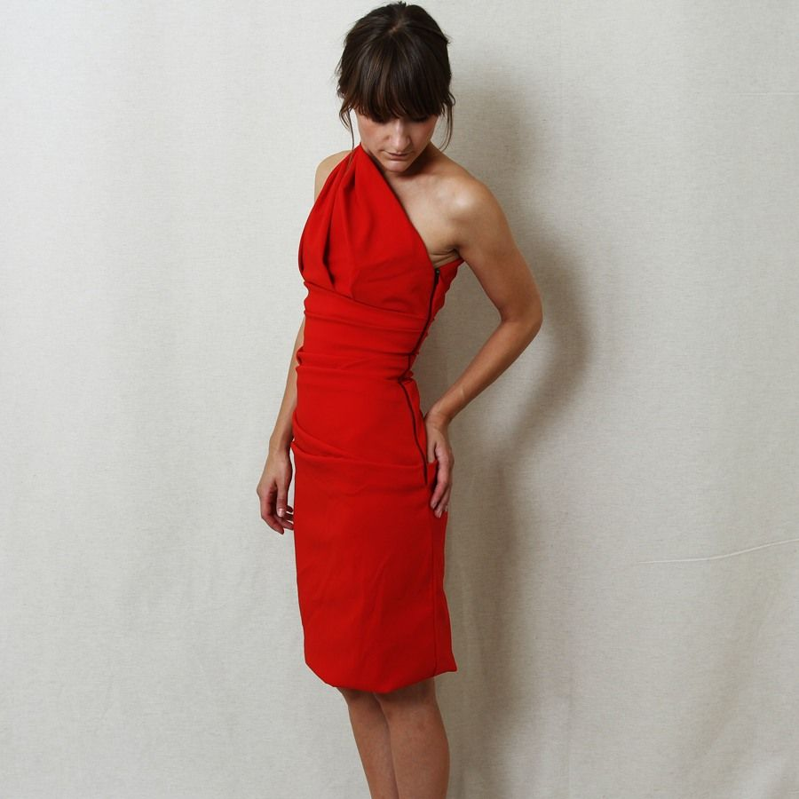 Preen plaza dress found at nitty gritty store luxelogic style