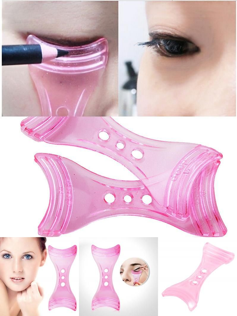 Perfect shopping Eyelashes Guide Template Shaper Assistant Helper Tool Makeup - ItaCumo