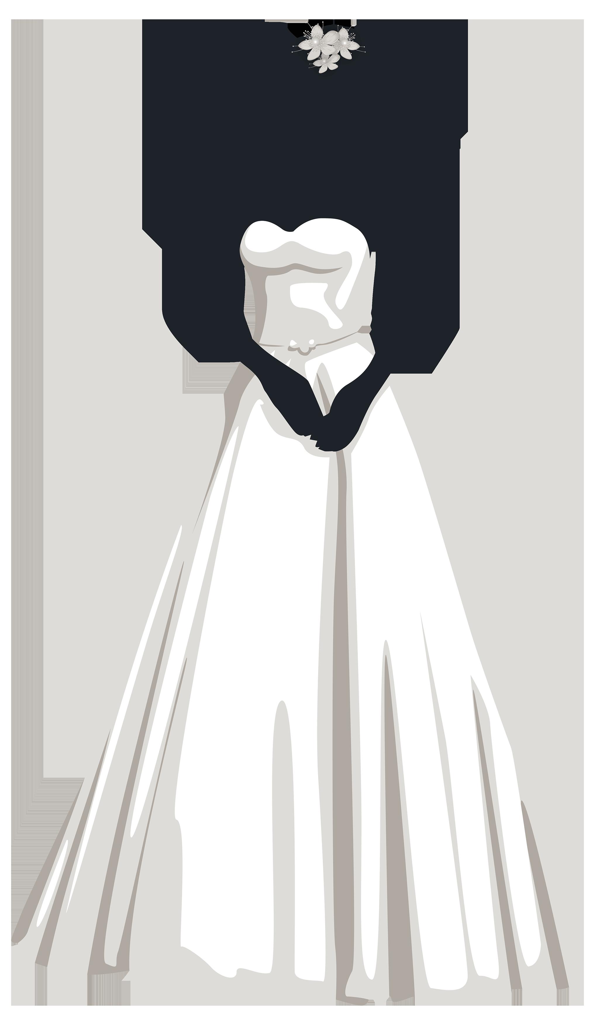 Bride Silhouette PNG Clip Art | Imagen 15 Años | Pinterest ...